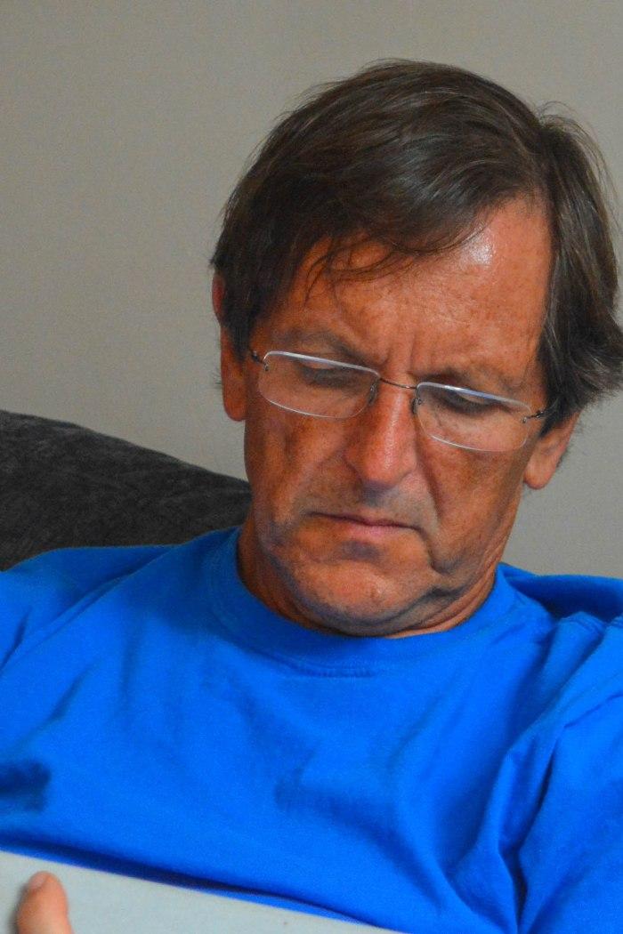 Rob, the reader - Rickmansworth, UK