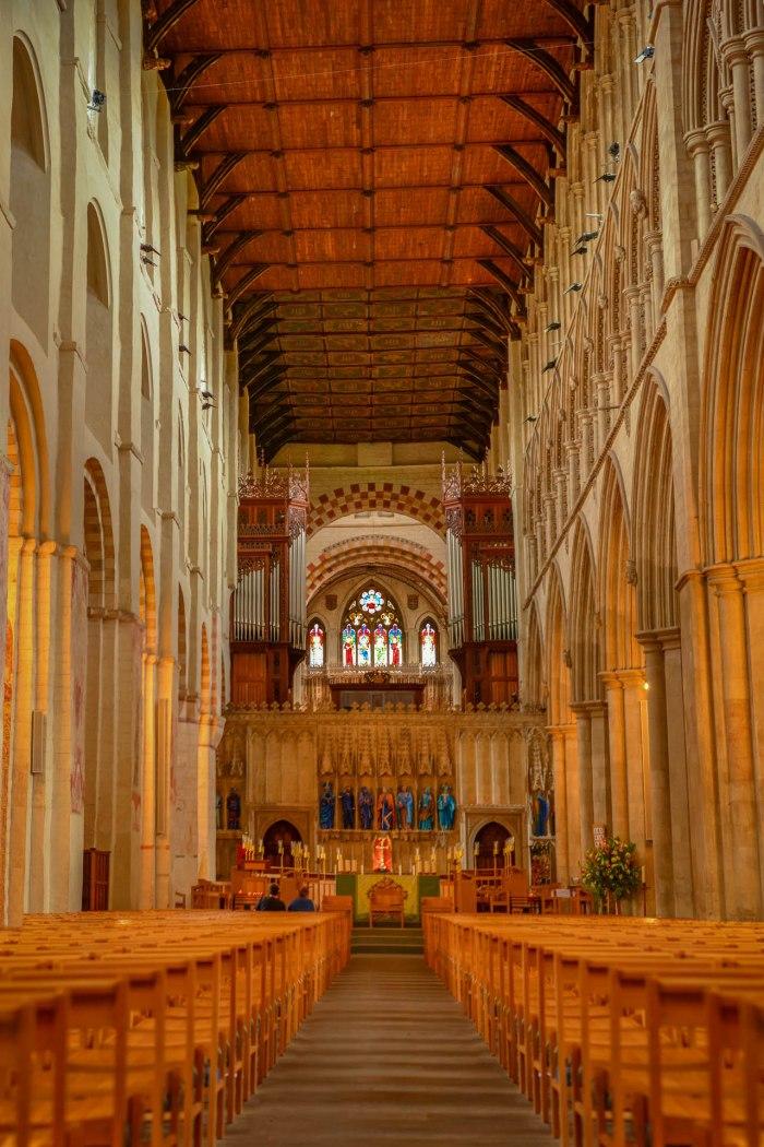 Stitching England's longest nave - St. Albans, UK (Worldwide Photo Walk)