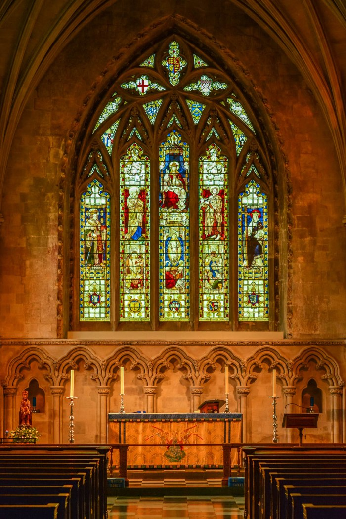 The alter  - St. Albans, UK (Worldwide Photo Walk)
